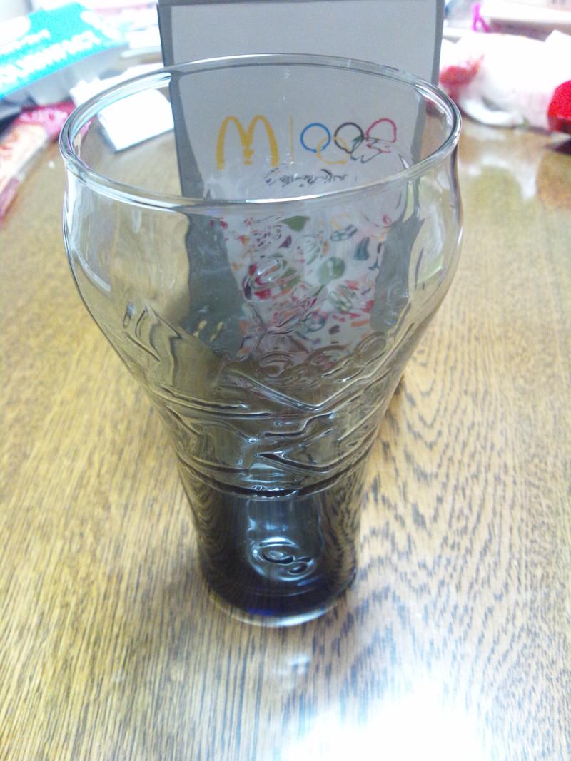 マクドナルドのグラス